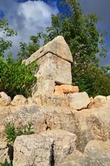 Ruines antiques de kaş en Turquie