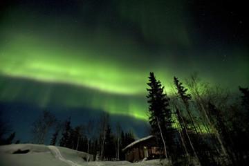 カナダのオーロラ Yellowknife of aurora