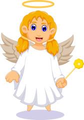 cute angel cartoon for you design