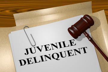 Juvenile Delinquent - legal concept