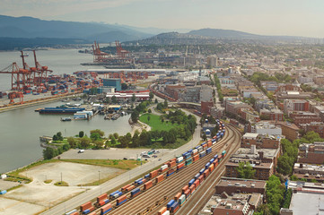 Vancouver freight port