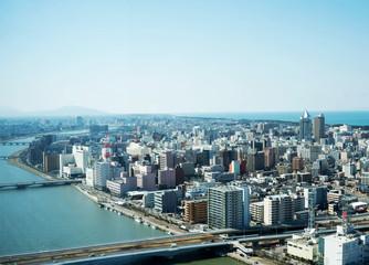 新潟市の眺望