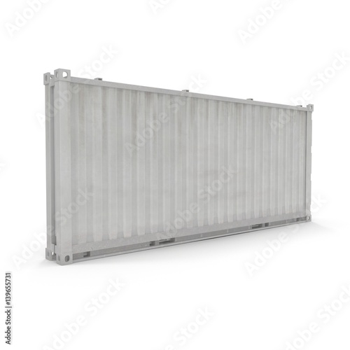 folded collapsible iso container isolated on white 3d illustration stockfotos und lizenzfreie. Black Bedroom Furniture Sets. Home Design Ideas