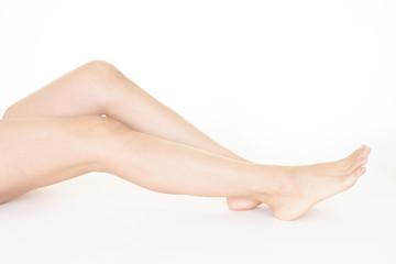 美しい女性の脚