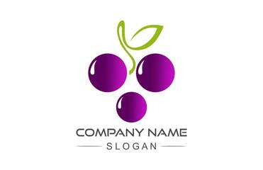 grape fruit icon Fototapete
