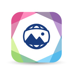 Origami Mobile App Icon Series