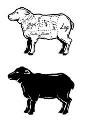 black lamb symbol