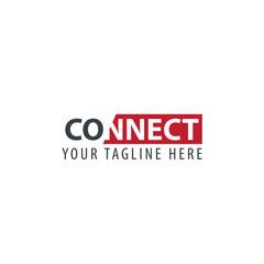 Initial Letter Connect Design Logo