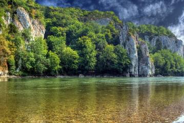 Flussufer der Donau