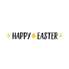 Happy Easter Bold Font Lettering
