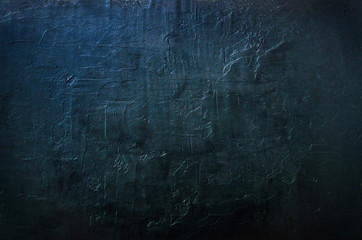 Dark concrete texture, background. Toned effect. Free space for your text.