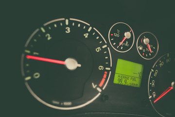 Car high fuel consumption