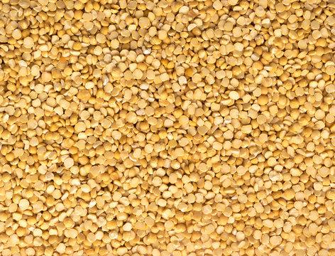 Dry Split Yellow Peas Background