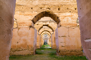 Royal Stables and Granaries of Moulay Ismail, Meknes
