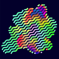 abstract vector background-Dot Graphics