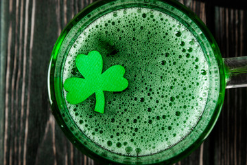 Happy St. Patrick's Day green drink
