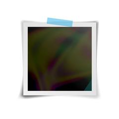 Instant Photo Frame Vector. Retro Photo Frame Isolated On White Background. Vector Illustration For Your Design Artwork, Poster, Flyer.
