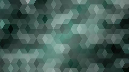green hexagons double