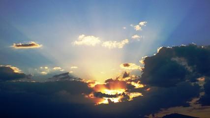 glory sunset