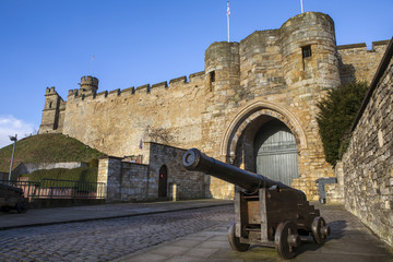 Lincoln Castle in Lincoln UK