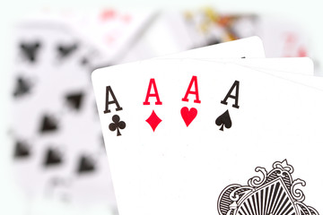 cards, aces and joker 3