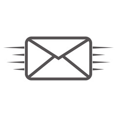 Sms line icon. Sms line. Fast sending email, sms and so on