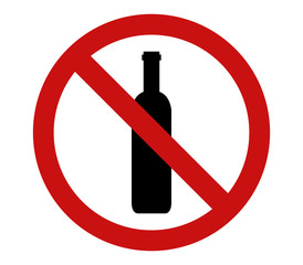 icon alcohol ban