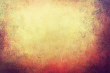 grunge  background with warm colors