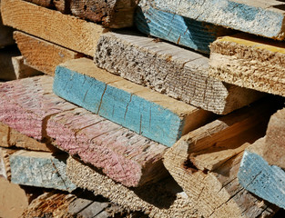 Scrap timber to be recycled