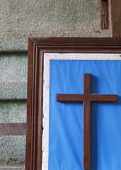 cross framed,tagbilaran
