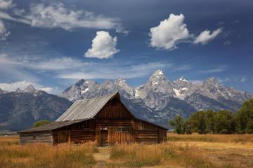Morman farm, Grand Tetons National Park, Wyoming
