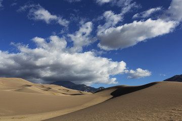Dunes and Clouds, Great Sand Dunes National Park, Colorado