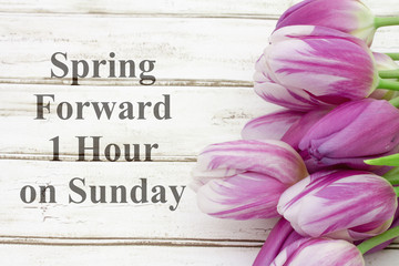 Spring Forward message