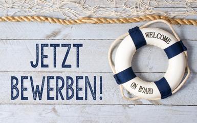 Jetzt bewerben - Welcome on Board