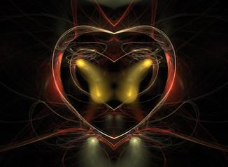Abstrakt, Herz, Liebe