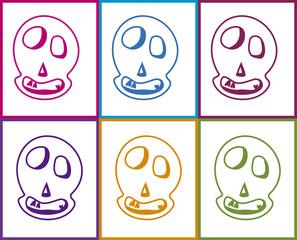 smiling skull 2
