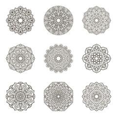 Mandala. Ethnic decorative element.