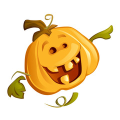 Happy Pumpkin (Vector)