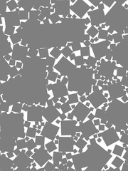 Abstract background with random blocks. Pattern for fashion concept.
