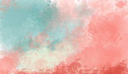 Abstract colorfull watercolor background