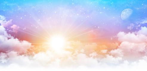 Dreamy sky scape