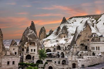 Cappadocia, Anatolia, Turkey. Open air museum, Goreme national park.