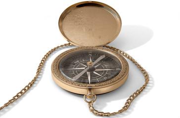 Ornate Pocket Compass