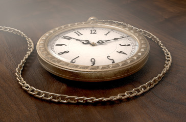 Pocket Watch On Chain