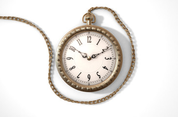 Pocket Watch On Chain
