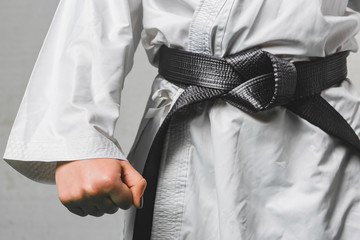 Black Belt Karate Martial Art