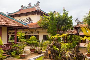 Linh Son Pagoda in Da Lat, Vietnam