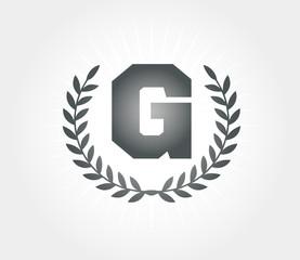 G Laurel design