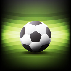 Creative Football and Soccer Design Vector Illustration