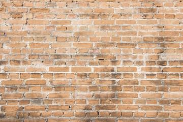 Vintage Orange old wall brick background pattern